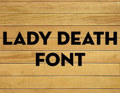 Aneudi Diaz - Lady Death Font