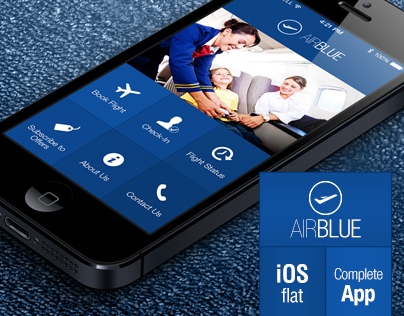 AirBlue - Flight Ticket Booking App
