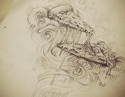 bo's sketchbook