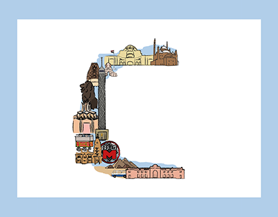 Illustration: C is for Cairo