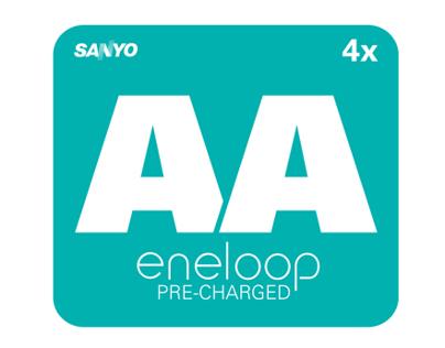 Eneloop Battery Package Redesign