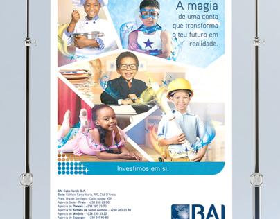 BAI - Banco Angolano de Investimento - Advertising Ads