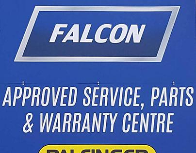 Falcon / Palfinger ACP Building Signs