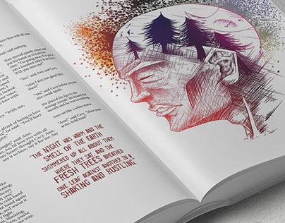 Collaborative illustrated book