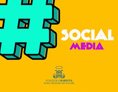 Social Media - Colégio Marista Belém
