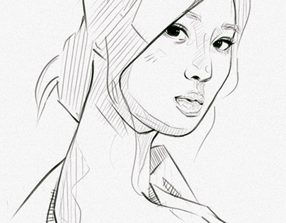 Portrait Study - Kwon Yuri