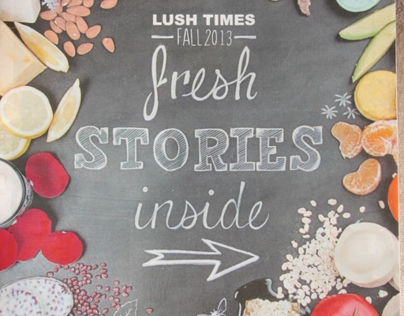 Lush Cosmetics - Lush Times Fall 2013 Cover