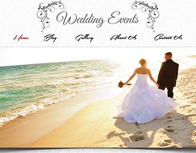 Website Design (Wedding)
