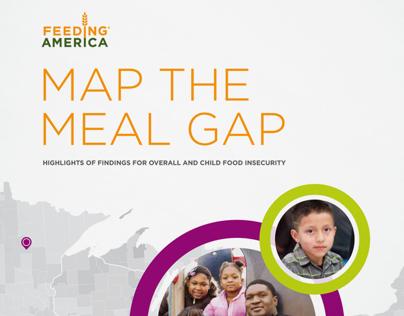 Feeding America: Map the Meal Gap 2013