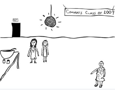 Improv Drawing: Gandhi