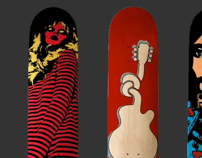 Skateboard Deck Graphics