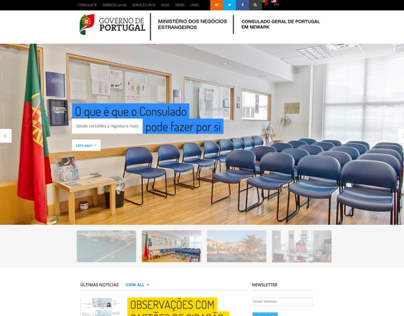 Web: Government of Portugal - Newark Consulate