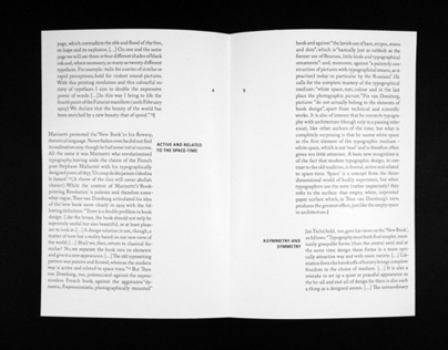The Typographic Grid - Book Layout