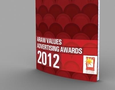 Araw Values Awards Souvenir Programme 2012