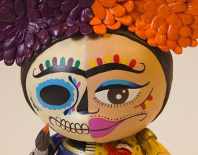 Frida Kahlo Art Toy