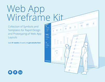 Protogonist Web App Wireframe Kit