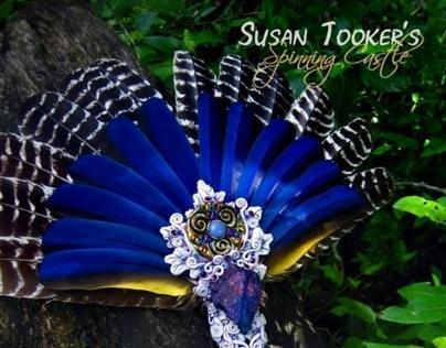 REGAL PRIESTESS - Ritual Feather Smudge Fan