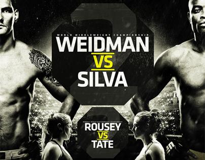 UFC 168: WEIDMAN vs. SILVA II