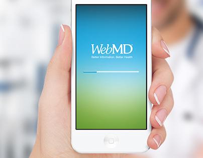 WebMD Mobile App Concept Design