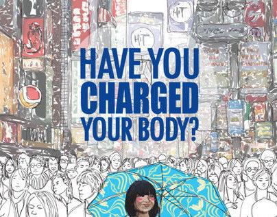 Pocari Sweat Poster Campaign (unofficial)