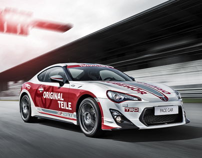 TOYOTA GT86 PACE CAR