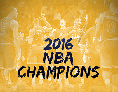 2016 NBA Champions Social Post