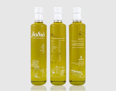 λαδιά // (la-diá)  - extra virgin olive oil