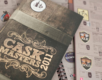 molson coors cask masters brochure on behance