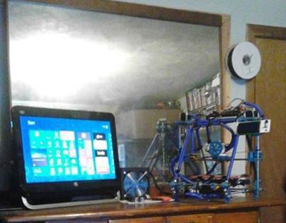 Prusa Mendel 3D Printer Build
