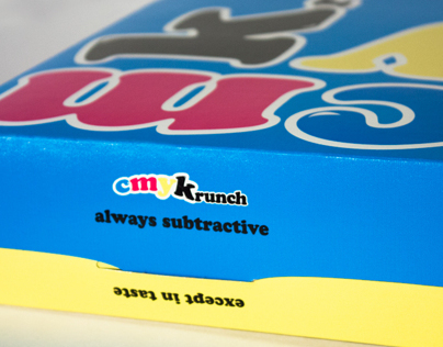 CMYKrunch Cereal Packaging