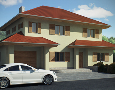 House Visualisation Exterior and Interior