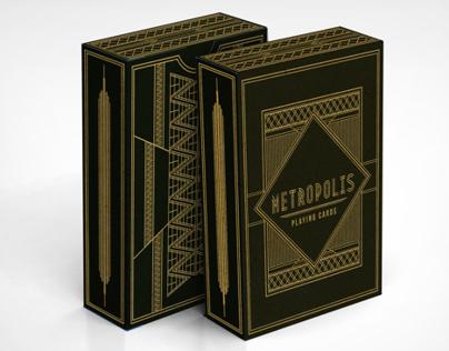 Metropolis Playing Cards
