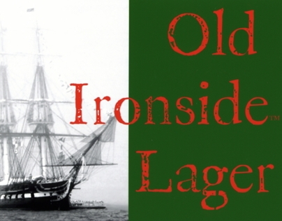 Old Ironside's Lager- Creative Design/Packaging