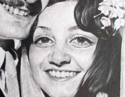 70's Wedding Commission