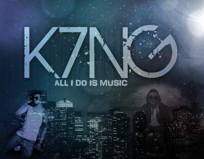 K7NG 2D Logo
