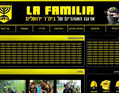 La Familia - Web Design
