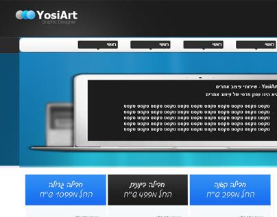 YosiArt - Graphic Designer Web