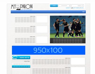 MyOpnion Website