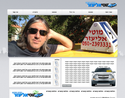 Driving Teacher Logo + Web Design