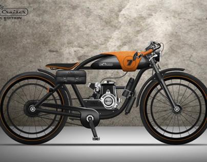 LM CRUISER - MOTORIZED BICYCLE