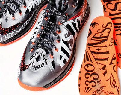 Nike LeBron X Custom