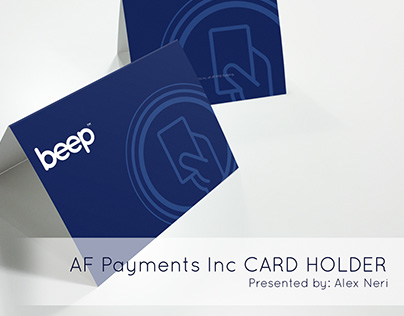 AF Payments Inc. - beep(TM) Card Holder for Giveaways