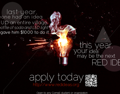 Red Ideas Promotional Materials 2012-13