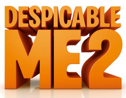 Despicable Me 2 - Title Creation