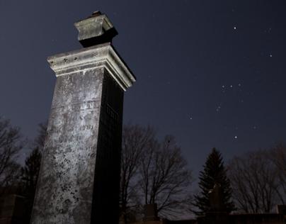 Night Transformations - Cemetery