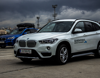 Photo and Video Coverage of BMW X1 Embrace the Unknown