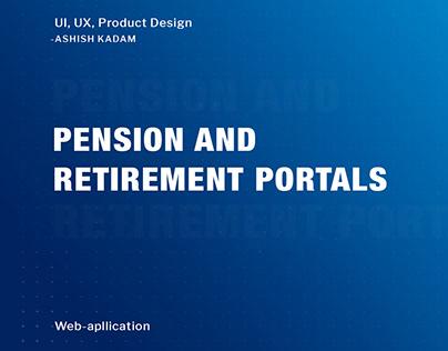 Pension & Retirement Portal- (Product Design)