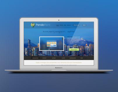 Pendo Rent website