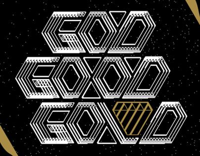 A God Mind needs no words just Gold.