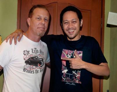 James Hetfield -Metallica @ Jakarta 2013
